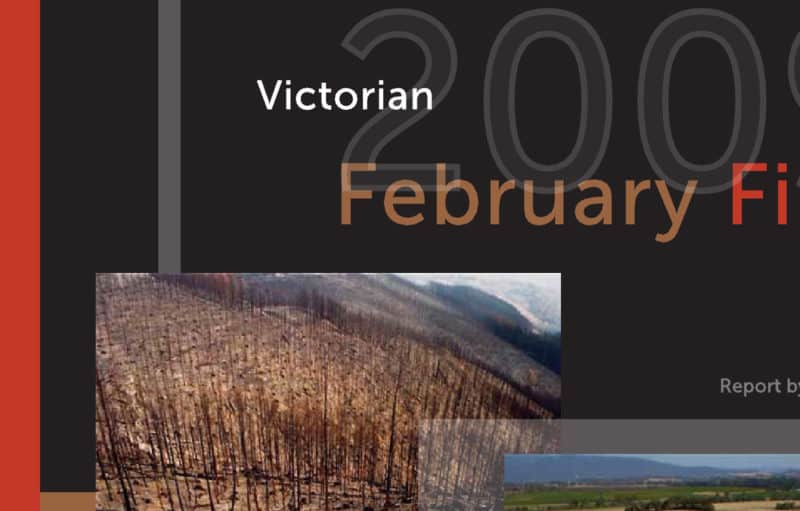 Victorian 2009 February Fires